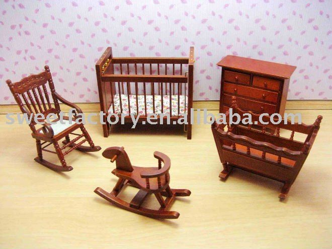 Wooden Doll House Baby Furniture Toys From Yongjia Sweet Arts U0026 Crafts Co.,  Ltd