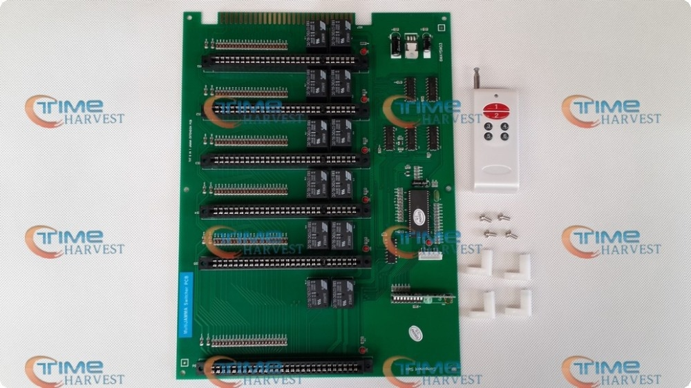59.90$  Buy here - http://ali92v.worldwells.pw/go.php?t=503582612 - 6-in-1 Jamma extension PCB converter board/1 jamma to 6 jamma converting board for arcade game machine/game machine 59.90$