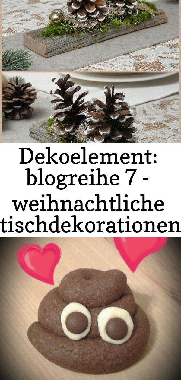 Dekoelement: blogreihe 7 - weihnachtliche tischdekorationen 4 #weihnachtlichetischdekoration