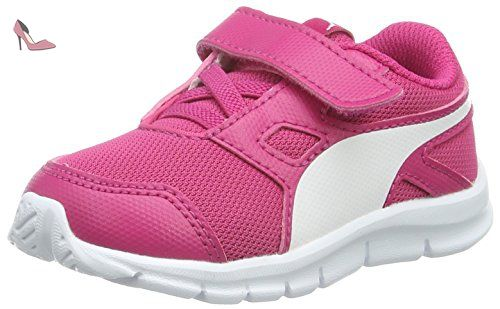 Puma Cabana Racer SL Jr, Sneakers basses mixte enfant - Violet - Violett (vivid viola-geranium-white 32), 39 EU
