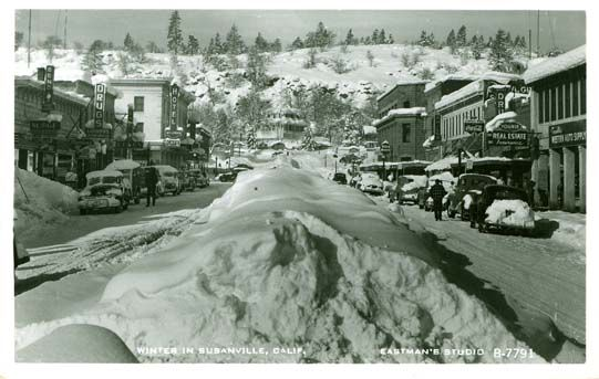 Susanville Ca. 1958 a bit earlier but I remember the huge piles of ...