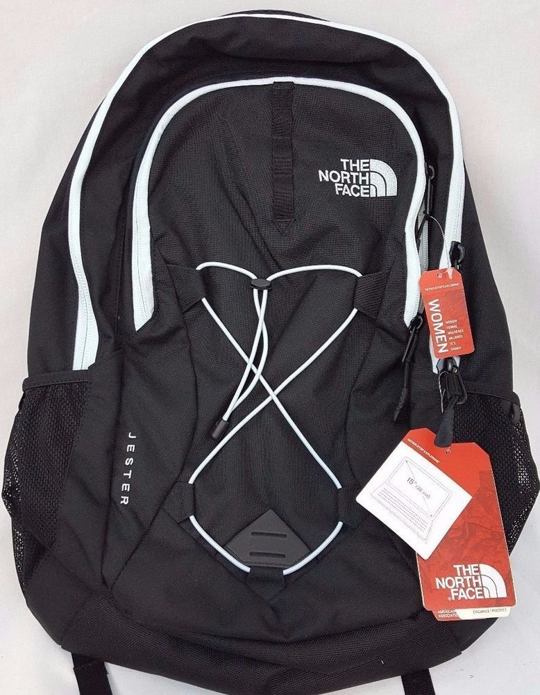 a15c4d9e The North Face Womens Jester TNF Black Origin Blue Backpack Daybag  #TheNorthFace #Backpack