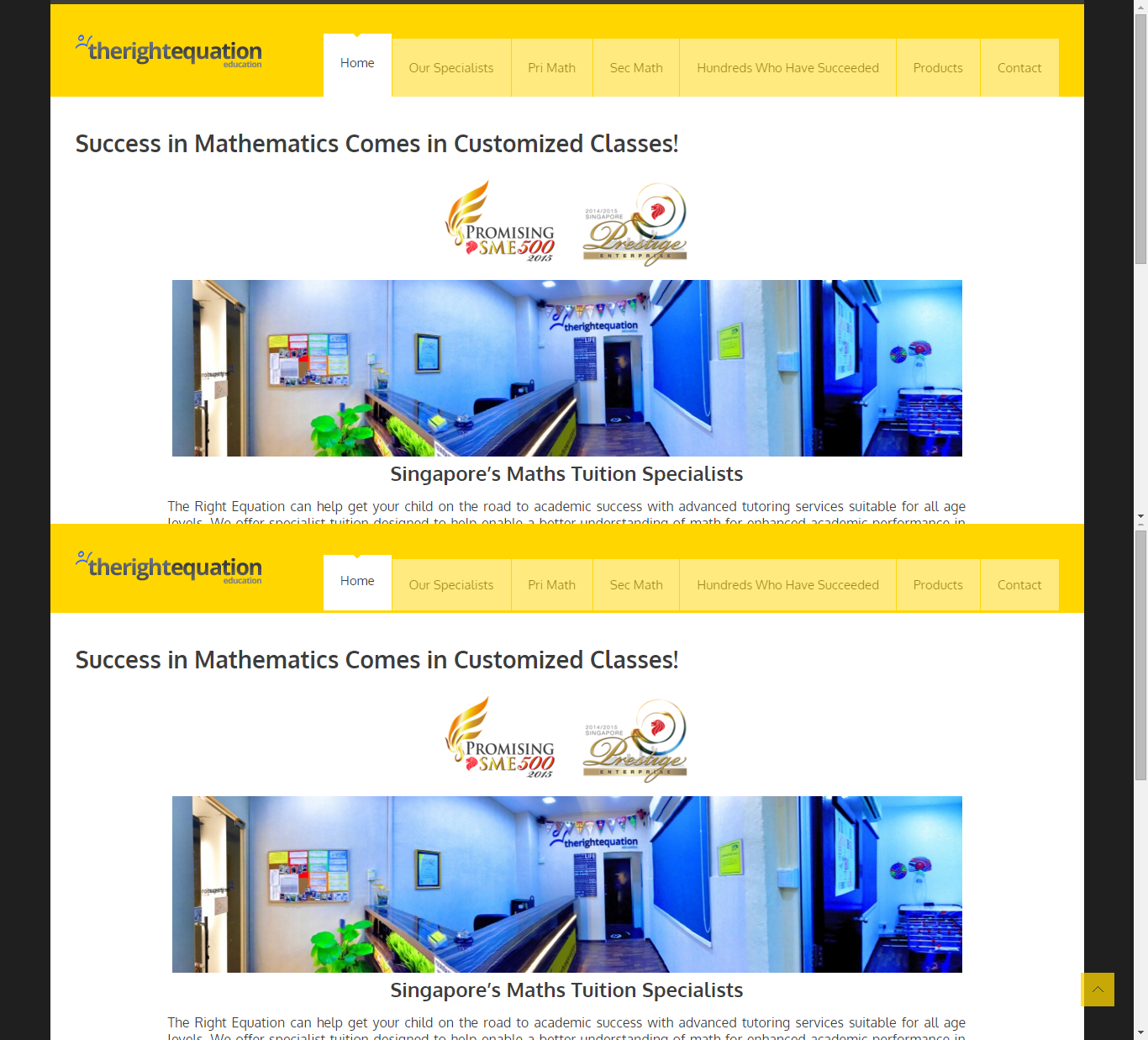 cool Sample Websites for Maths tutors math tuition agency in ...