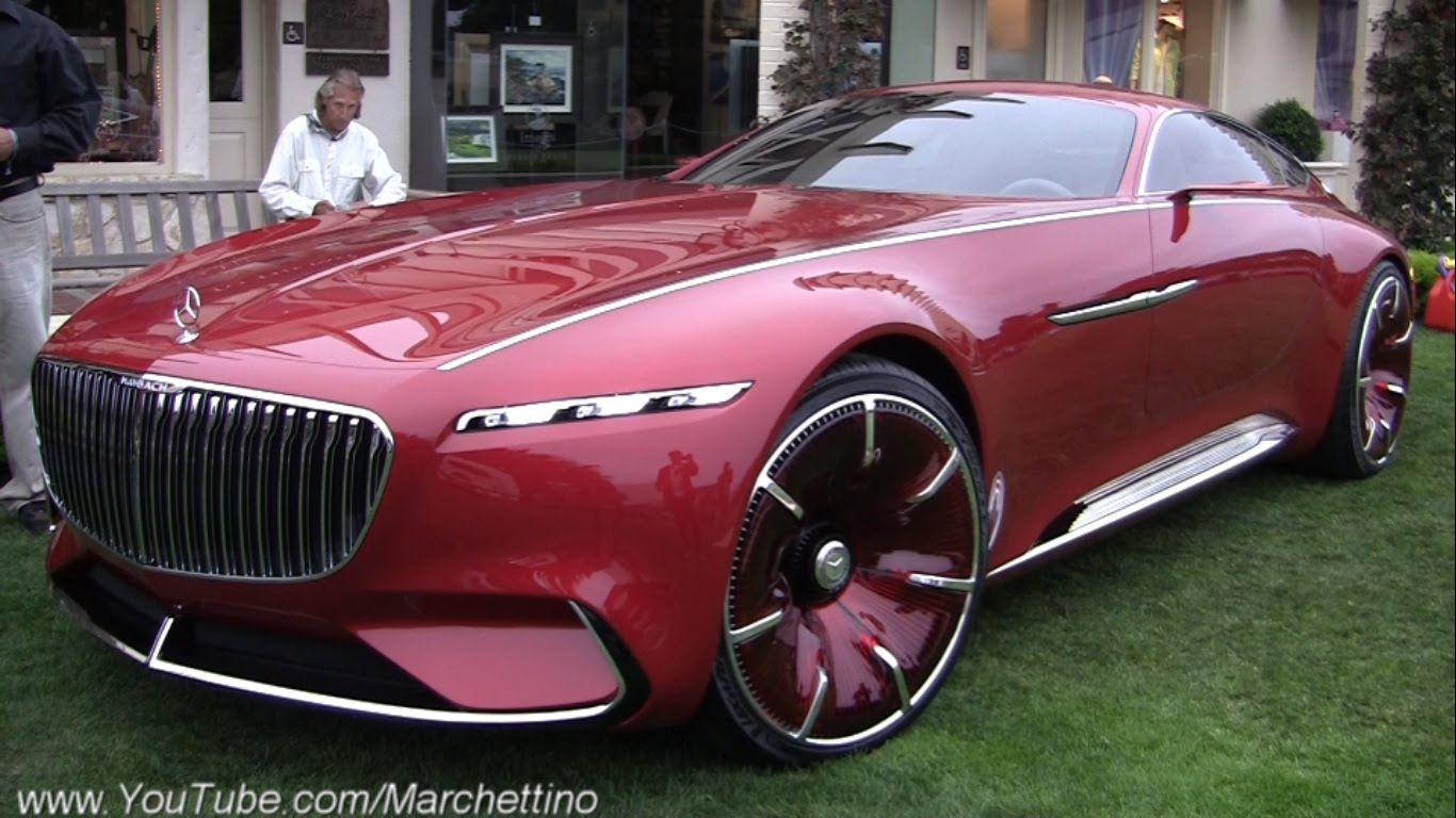 Vision Mercedes Maybach 6 Features And Technology In 2020