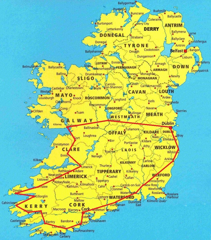 Map Of Ireland For Driving.The Best 4wd Beaches In Australia Travel Ireland Food Culture