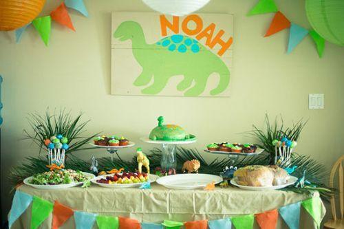 Dinosaurbabyshowerideas Dinosaur Theme Baby Shower Ideas
