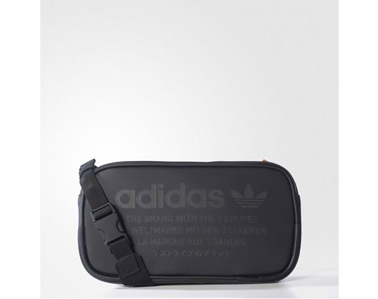 be44f5f7ddb2 adidas Originals NMD Pouch Cross Body Bag Black Zipper 3 Stripes Golf  BK6852  adidas  CrossBodyBag