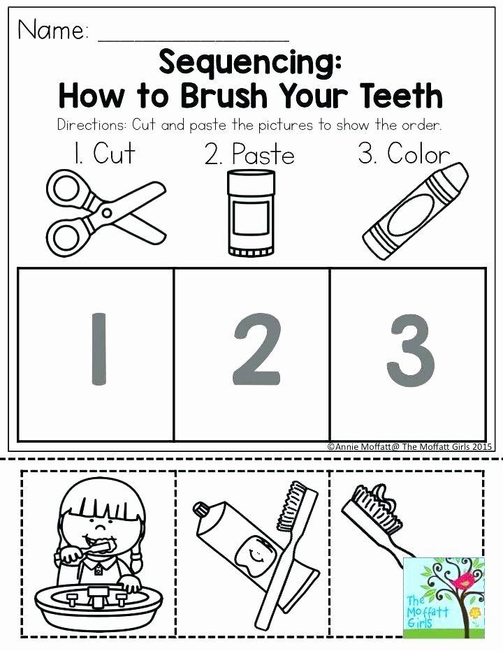 Kindergarten Sequence Worksheets Free Printable Personal ...