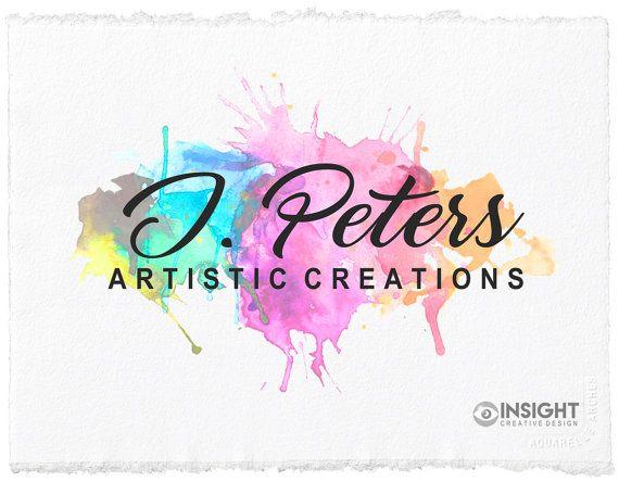 Art Logo Premade Business Artistic Paint Creative