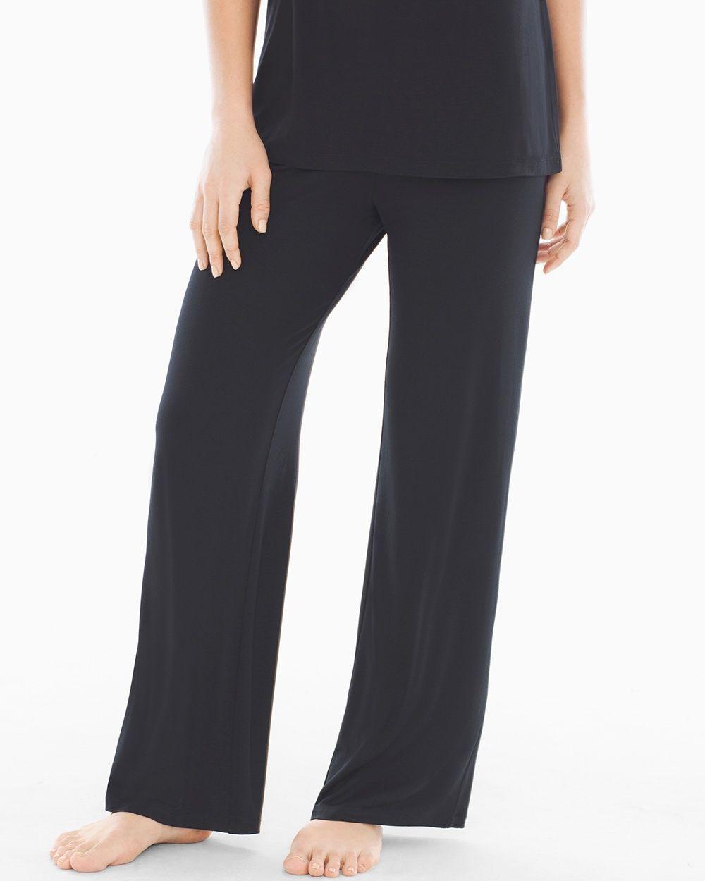 Soma Embraceable Cool Nights Pajama Pants Black  58321fbd3