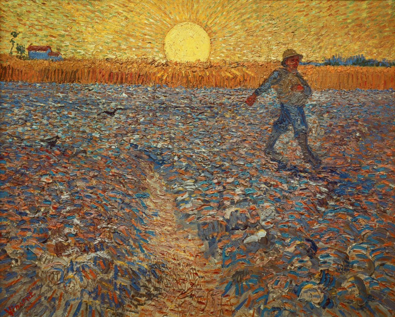 The Sower (1888) - Vincent van Gogh