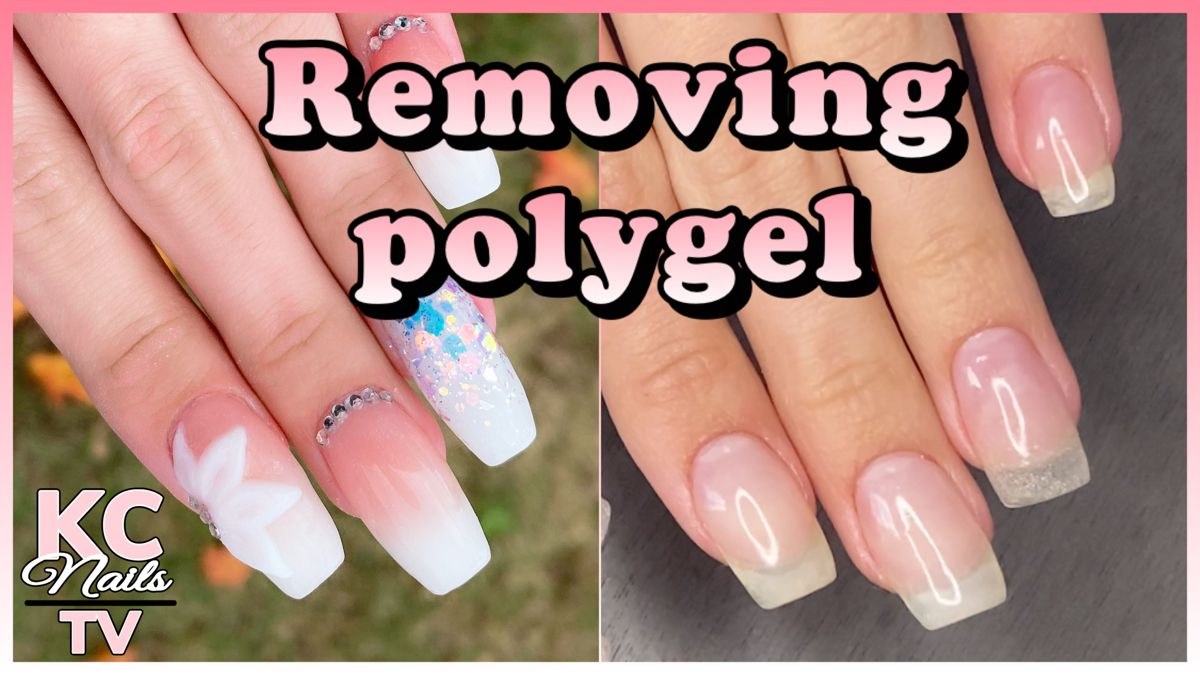 How To Remove Polygel Nails And Keep Them Healthy Youtube Nails Polygel Nails Nail Envy