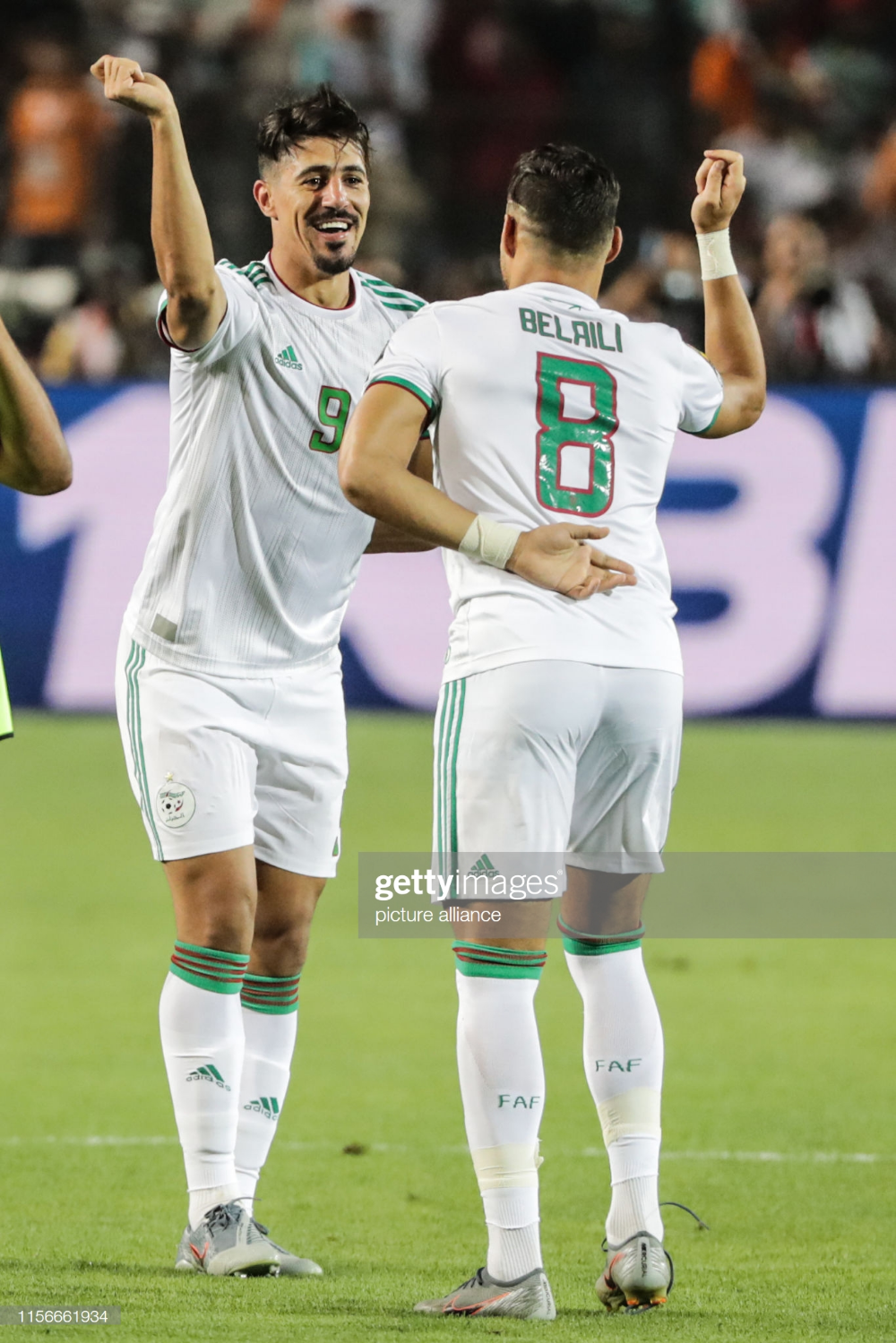 Algeria's Baghdad Bounedjah celebrates scoring... | Soccer guys, Soccer  pictures, Baghdad