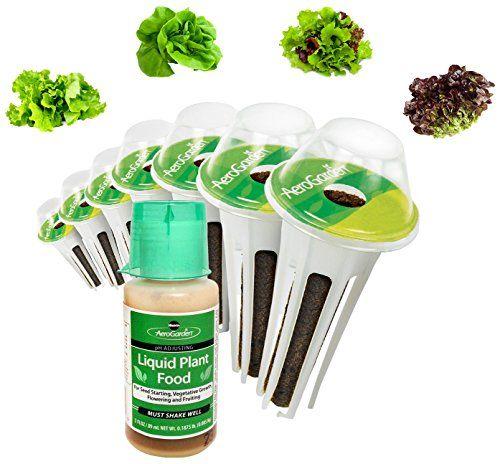 Miraclegro Aerogarden Salad Greens Mix Seed Pod Kit 7Pod 400 x 300