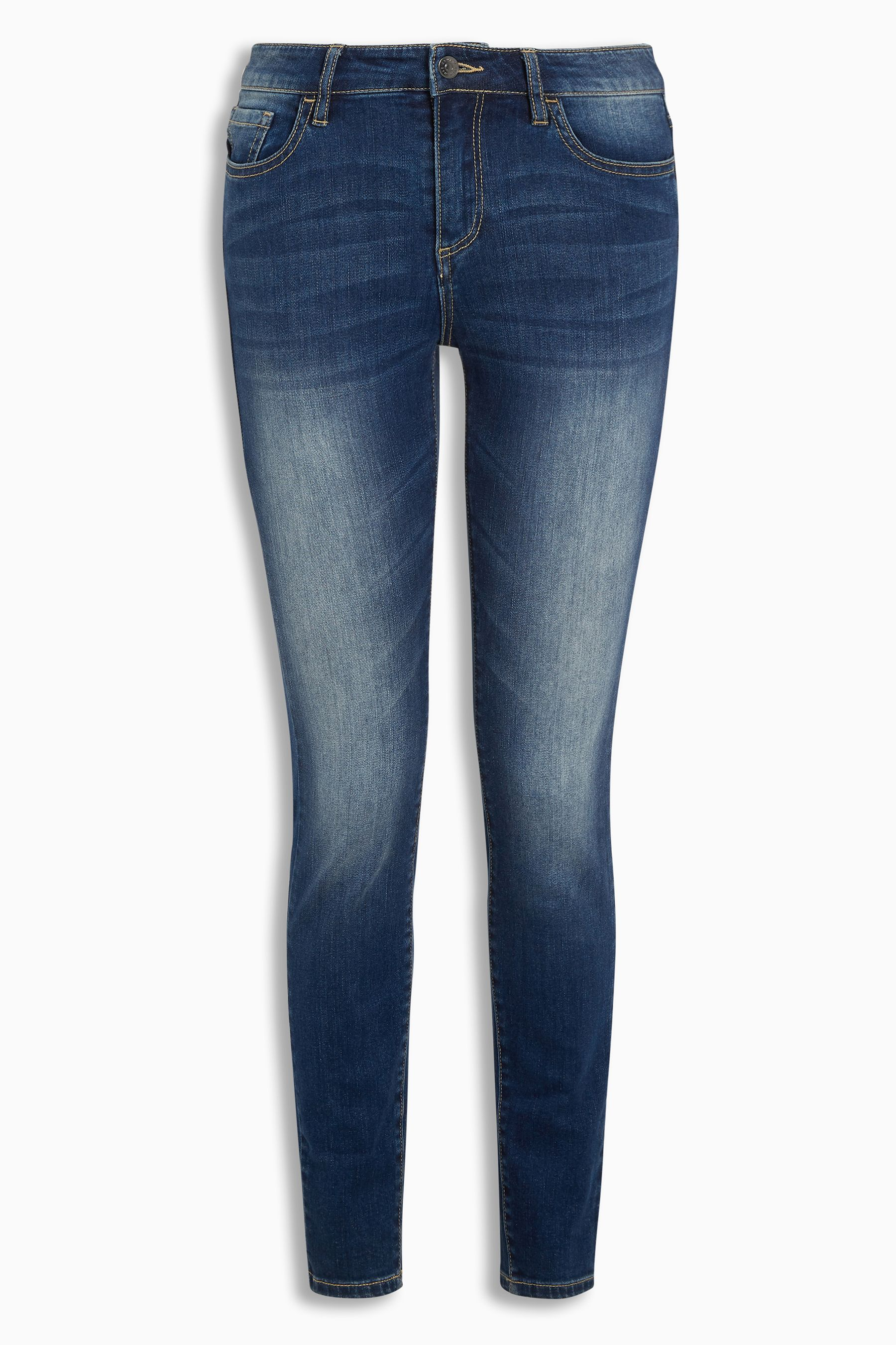 94d8e3582a9a Womens Armani Exchange Mid Wash J01 Skinny Jean - Blue | Products ...