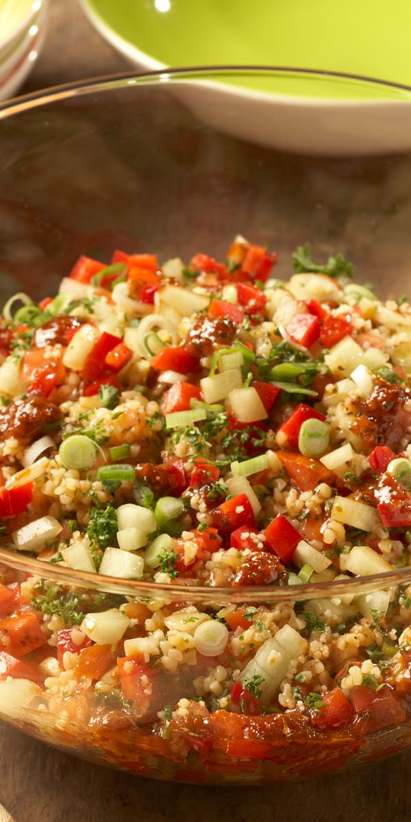 bulgur salat rezept salad salat rezepte und bulgursalat. Black Bedroom Furniture Sets. Home Design Ideas