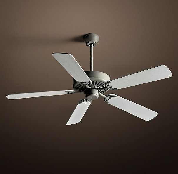 bistro ceiling fan 52 dark galvanized with whitewashed oak 65 spring ceiling fan 52. Black Bedroom Furniture Sets. Home Design Ideas