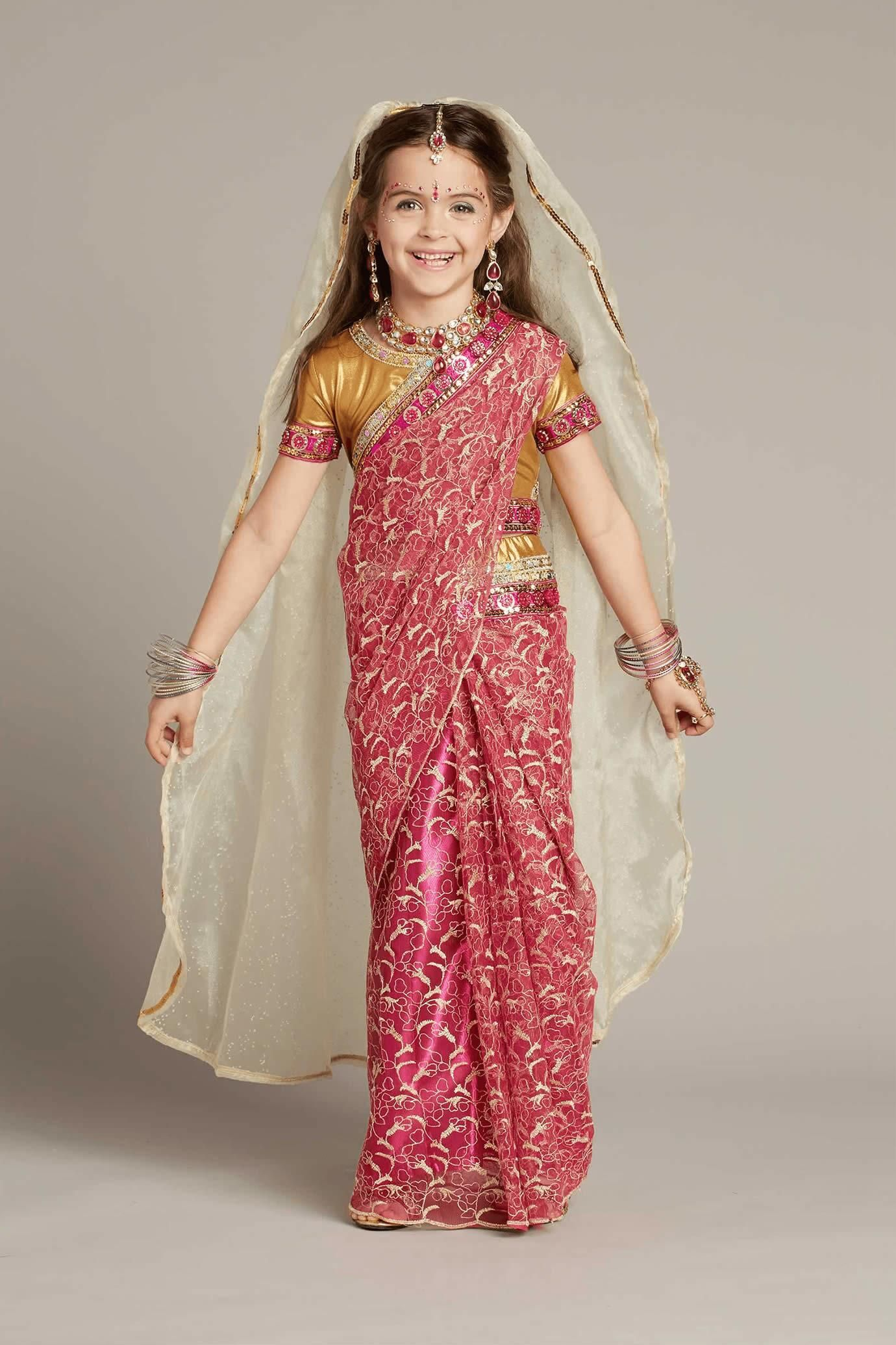 b4c018f3cb05a Indian Maharani Princess Costume for Girls in 2019 | Halloween ...