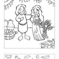 Ruth And Boaz Hidden Picture Puzzle Bible Story CraftsBible