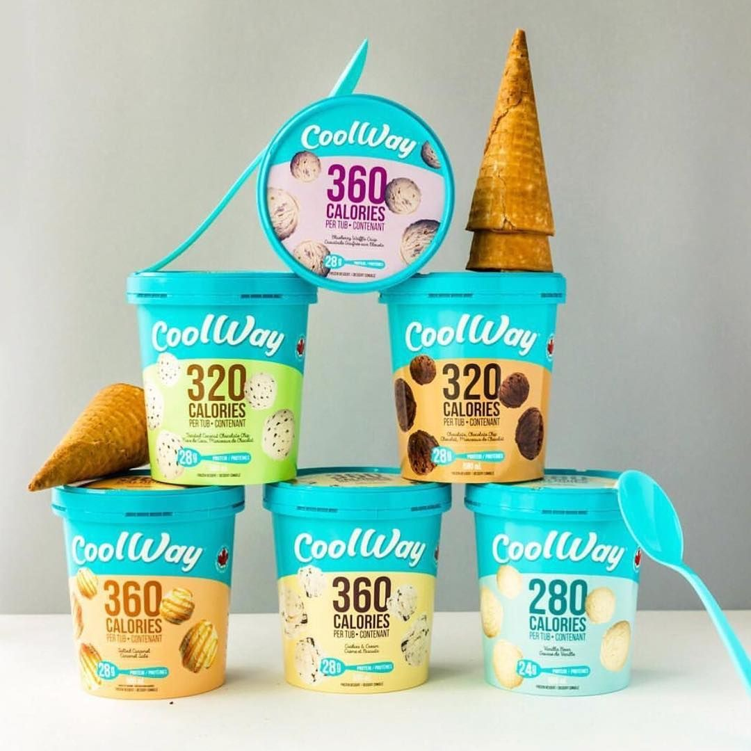 Cool Down This Week With Coolway Protein Ice Cream Delicious