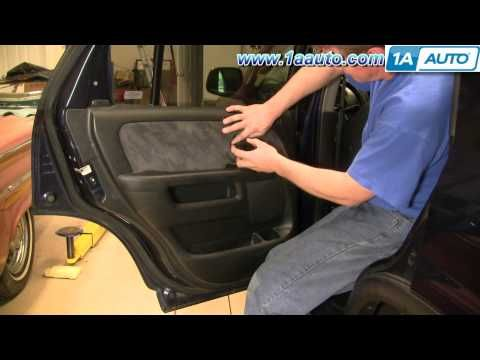 How To Install Replace Rear Door Panel Honda Cr V 02 06 1aauto Com Youtube Honda Cr Honda Crv Interior Honda Crv