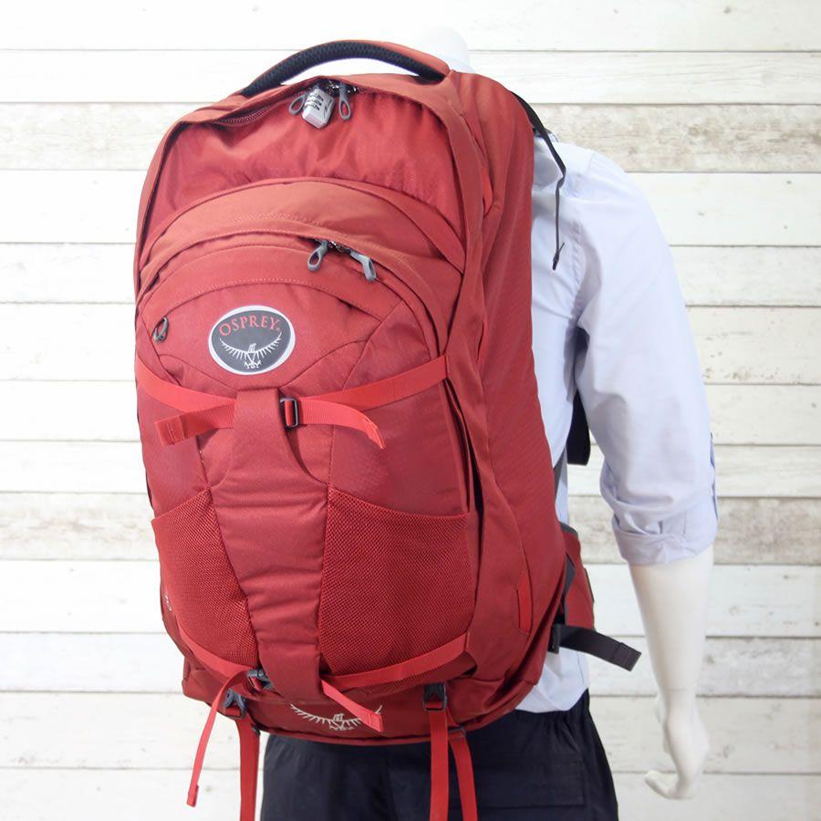 bcf1ad52ee7 Osprey Farpoint 70 Travel Backpack - Jasper Red
