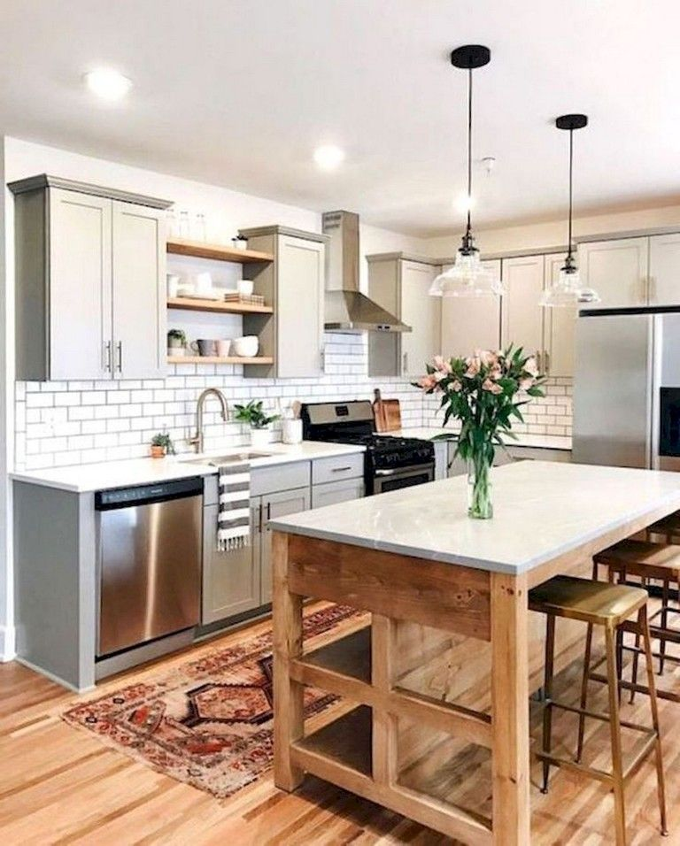 easy design for farmhouse gray kitchen cabinets ideas | kitchen