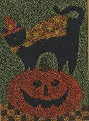 Punchneedle Patterns Plus - Boo Kitty