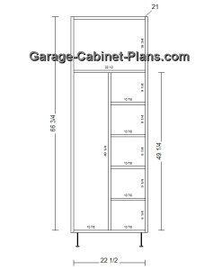 Utility Cabinet Plans