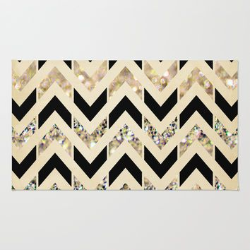 Best Black Bathroom Rugs Products on Wanelo | Black and gold