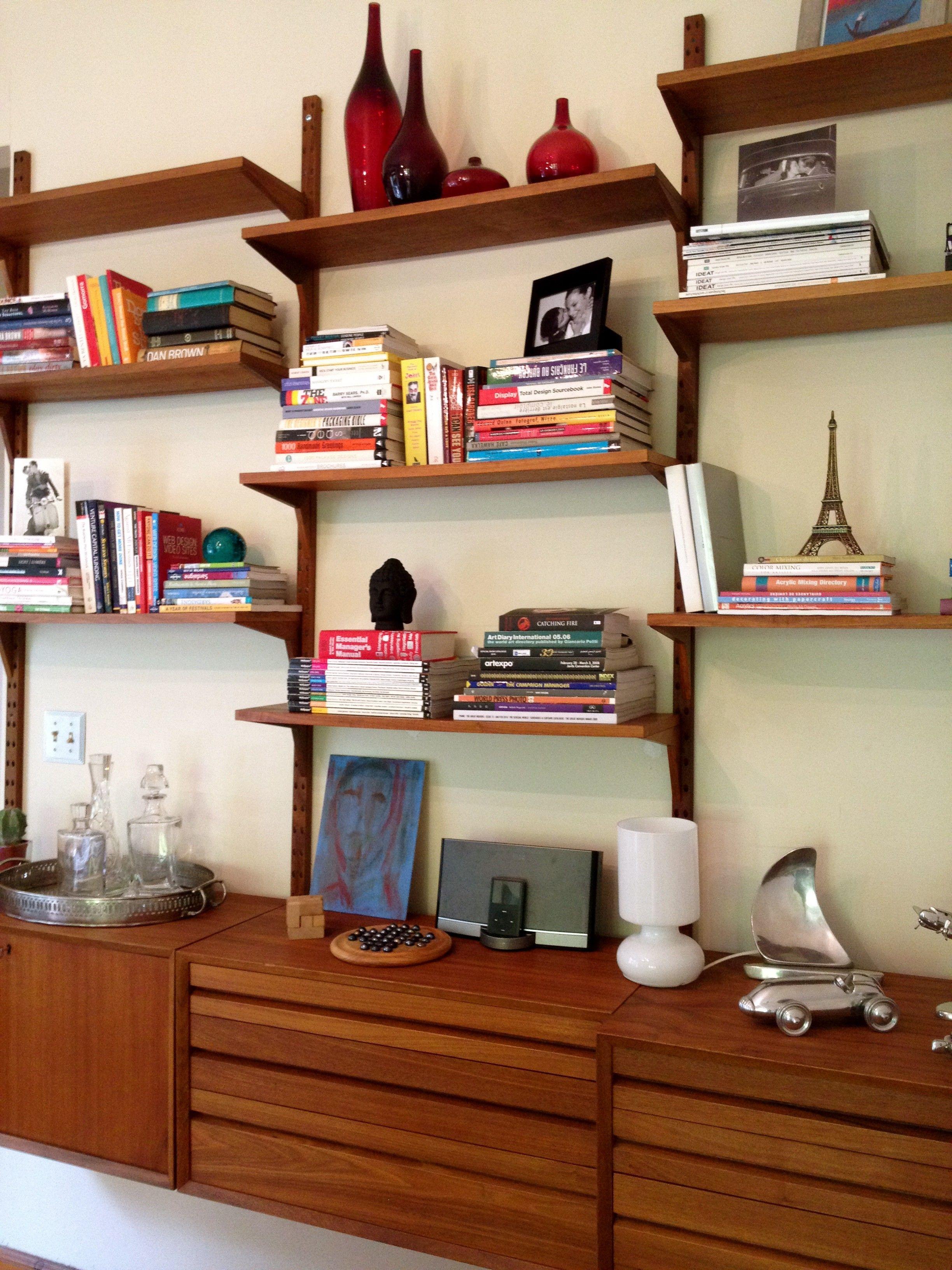 Interesting Scandinavian Bookshelves With Brown Wooden Floating Shelves Interior Ideas On The White Wall And B Floating Shelves Wooden Floating Shelves Shelves