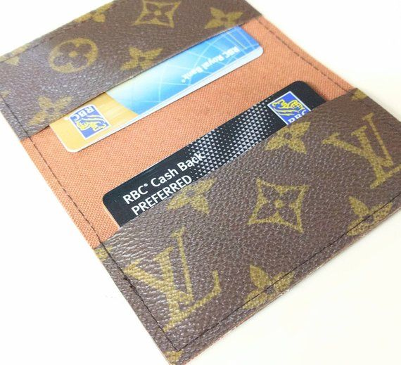 Lv Business Card Holder Repurposed Louis Vuitton Small Wallet