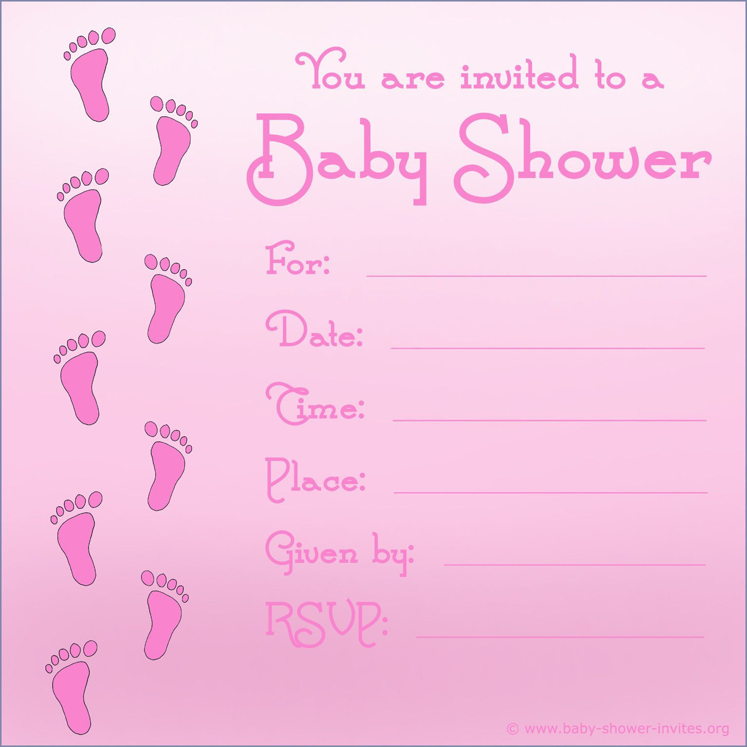 baby shower invitations design and print | baby shower invitations ...