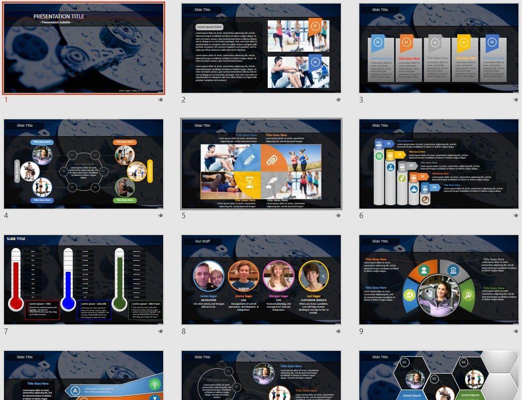 computer hard drive PowerPoint by SageFox