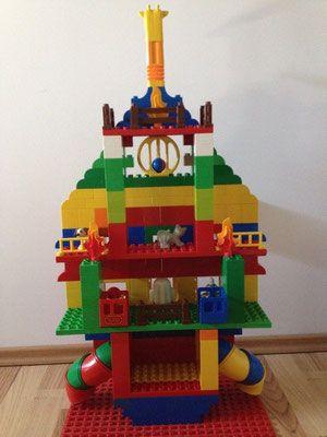 Rakete aus lego duplo steinen duplonauten - Lego duplo ideen ...