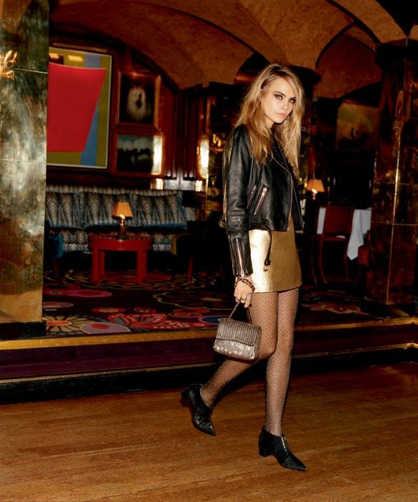 Cara Delevingne's Entire (Gorgeous) Topshop Holiday Campaign Is Here! via @WhoWhatWear