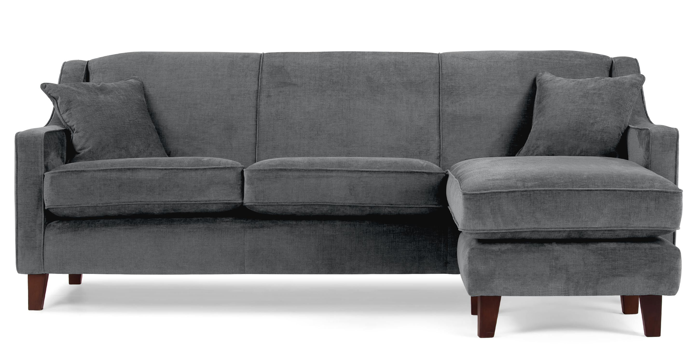 Halston Corner Sofa in dusk grey