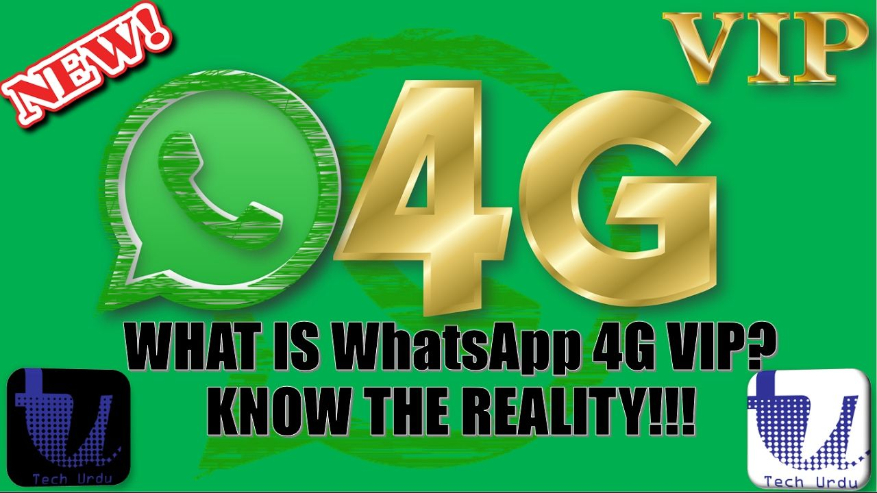 WHAT IS WhatsApp 4G VIP? KNOW THE REALITY | WHATS APP GOLD