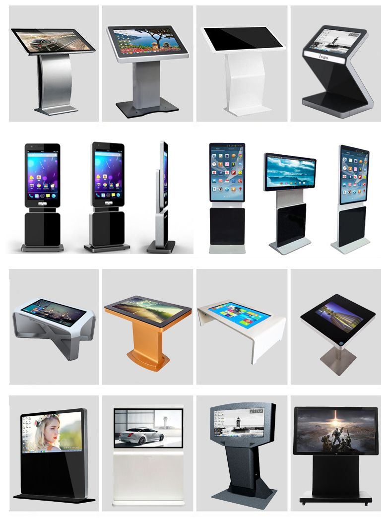 Digital signage advertising information kiosk video for Exterior kiosk design