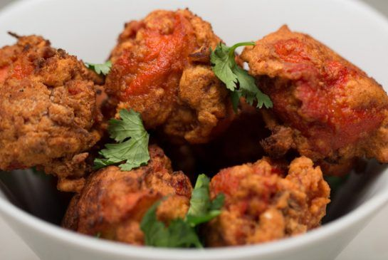 Zen One S Asian Halal Dishes Inspire Devout Fans Food Chicken Pakora Recipe Chicken Pakora