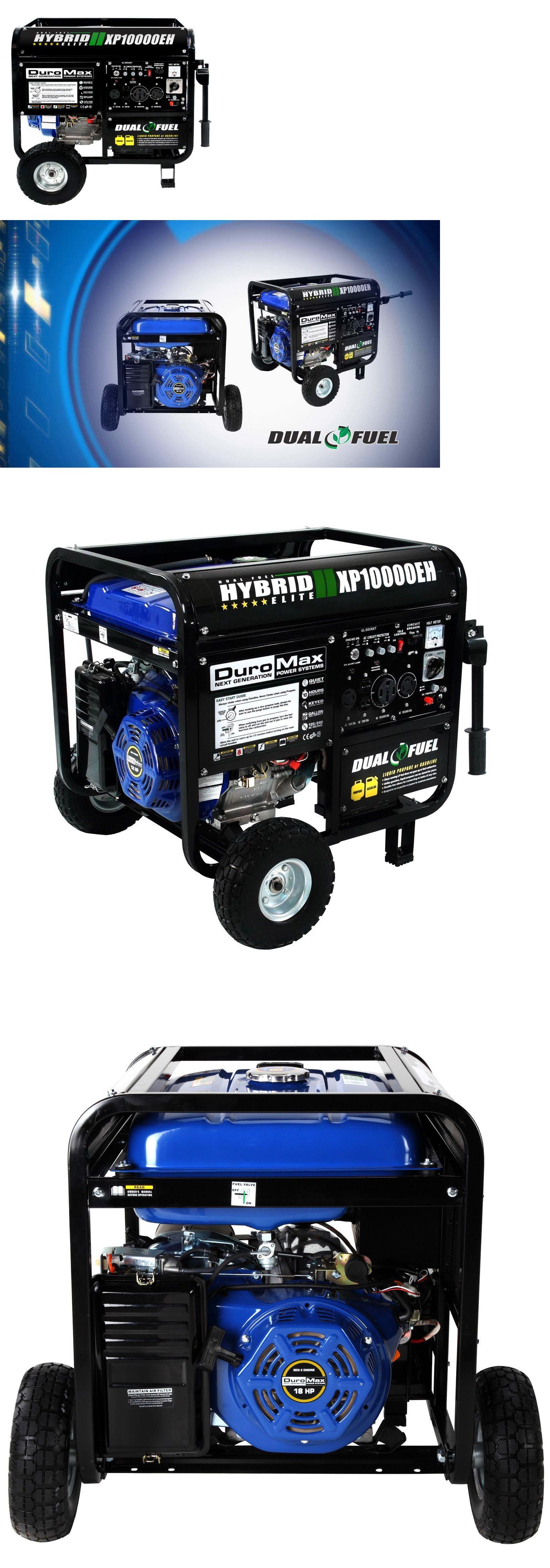 Generators Duromax Watt Hybrid Dual Fuel 18Hp Gas