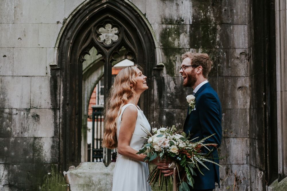 St Dunstan In The East Wedding By London Photographer