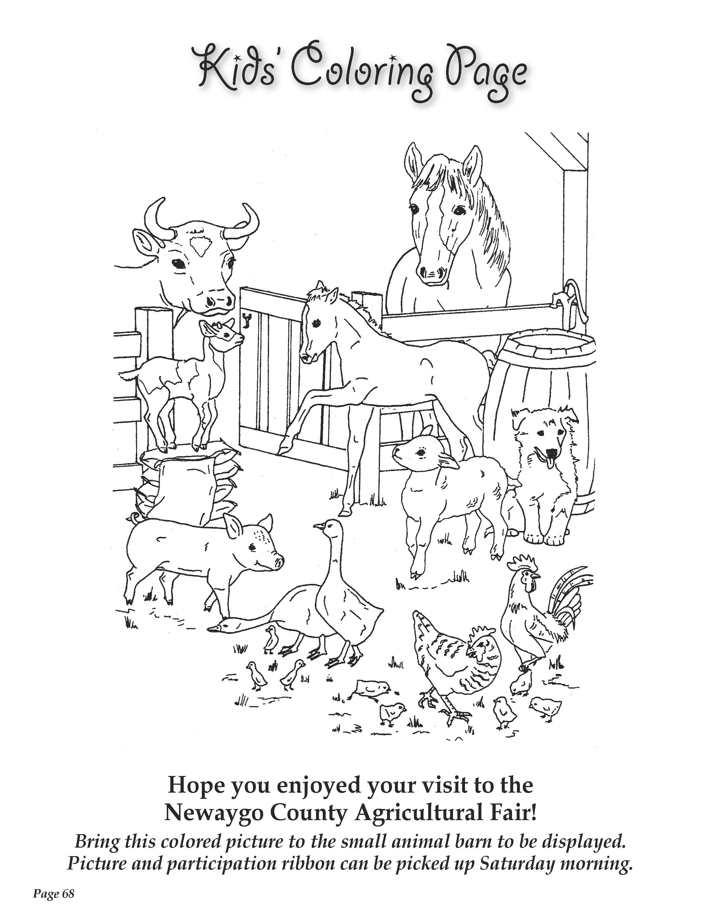 fair coloring pages