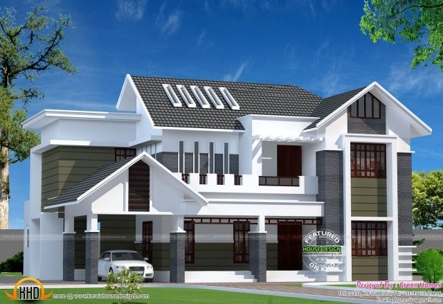 Picture Of 2800 Sq Ft Modern Kerala Home Kerala Home
