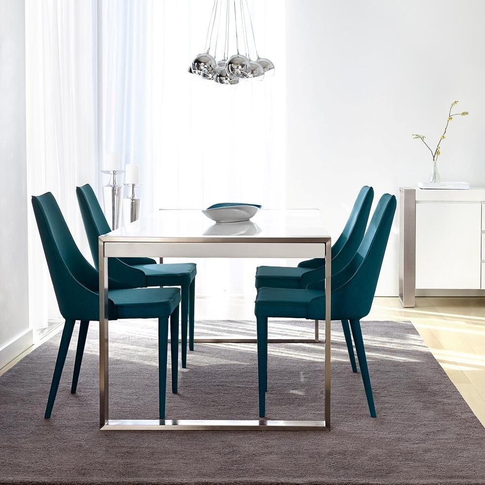 Atelier - Métropolitain - Chaise de salle à manger en tissu ...