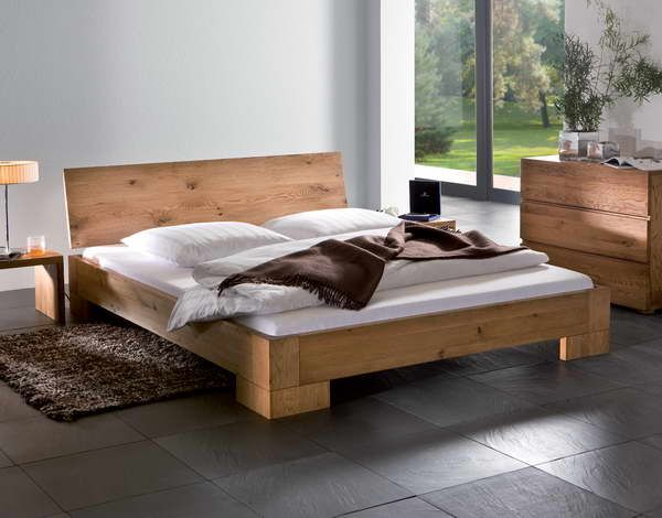Diy Bed Frame With Floor Tiles Wood Platform Bed Frame Bed