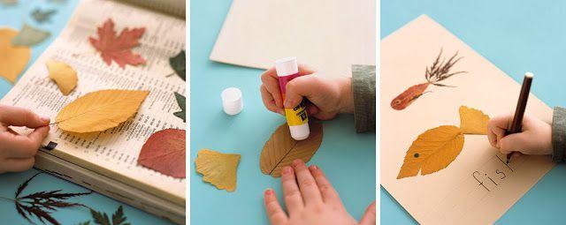 kokokoKIDS: Fall Leaves Craft Ideas