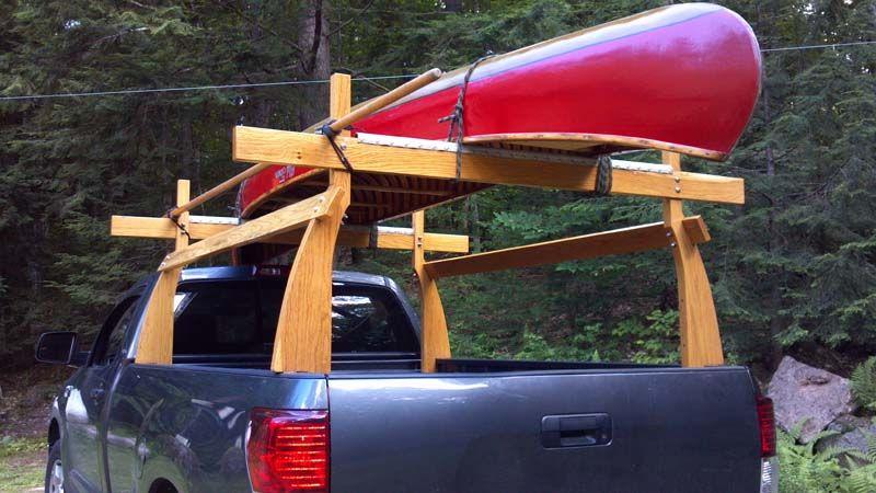 Pin by Jon Gillies on rack Truck canoe rack, Kayak rack