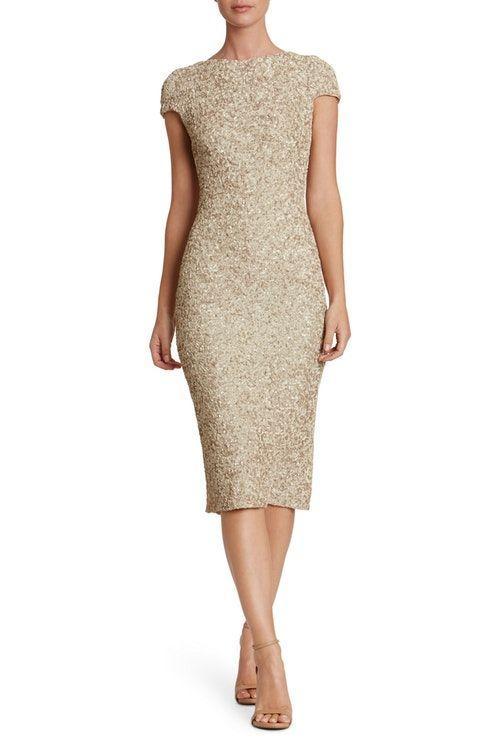 57a01fd2ae Dress the Population Marcella Sequin Midi Dress