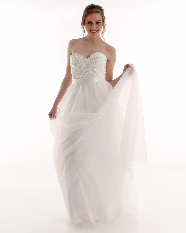 Bridal Separates Two Piece Wedding Dresses Skirt Corset